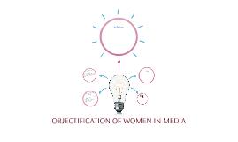 Objectification of women