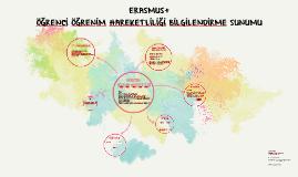 2018 Dönemi Erasmus+ Öğrenim Hareketliliği