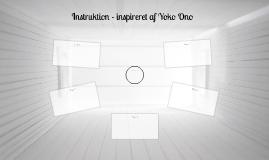 Instruktion - inspireret af Yoko Ono