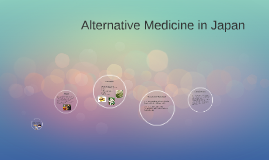 Alternative Medicine in Japan