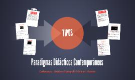 Paradigmas Didácticos Contemporáneos