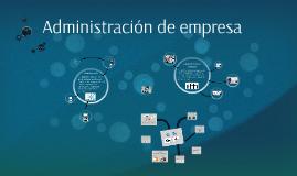 Administración de empresa