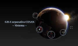 GIS Corporativo CESAN