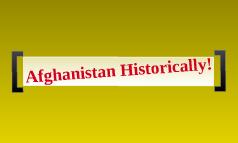 Afghanistan Historically