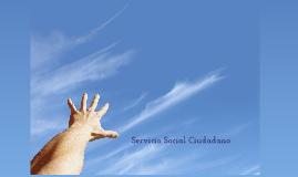 Servicio Social Ciudadano