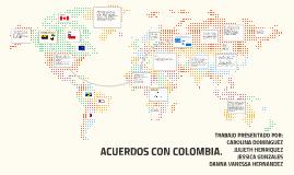 ACUERDOS CON COLOMBIA.
