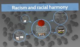 Racism and racial harmony