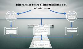 Diferencias entre el imperialismo y ecolonialismo