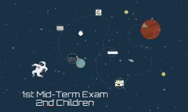 1st Mid-Term Exam - 2nd Children 2018