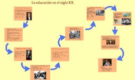 La educación en el siglo XX.