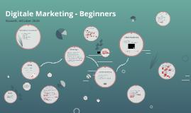 Digitale Marketing - Beginners