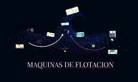 máquinas de flotación