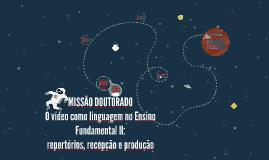 MISSÃO DOUTORADO