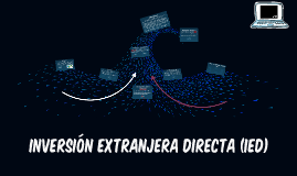 INVERSIÓN EXTRANJERA IRECTA (IED)