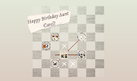 Happy Birthday Aunt Carol!