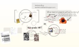 Intro to 8th grade ART