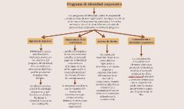 PROGRAMA DE IDENTIDAD CORPORATIVA