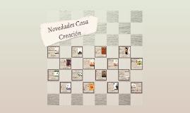 Novedades Casa Creación