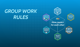 RULES FOR THE GROUP WORK