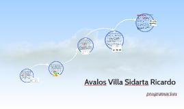 Avalos Villa Sidarta Ricardo