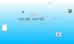 voc  words