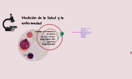 Medicion de la Salud y la enfermedad