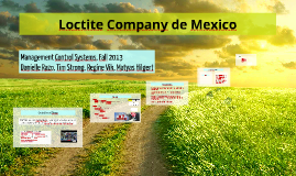 Copy of Management Control Systems - Loctite