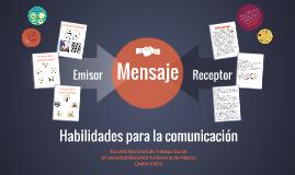 Habilidades para la comunicación