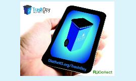 Olathe Trash Day App Presentation 2015