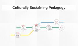 Culturally Sustaining Pedagogy