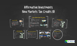 Copy of New Markets Tax Credits 101