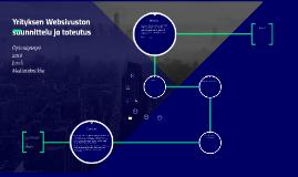 Yrityksen Websivuston suunnittelu ja toteutus