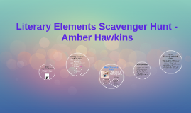 Literary Elements Scavenger Hunt -
