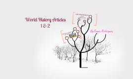 World History Articles 1-2