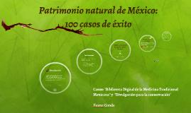 Patrimonio natural de México