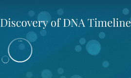 Dna discovery timeline essay