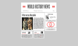 FLVS: World History HITLER and MUSSOLINI