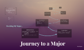 Journey to a Major