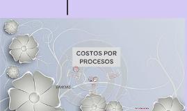 Copy of COSTOS POR PROCESOS
