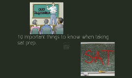 10 important things to know when taking the SAT preparation course