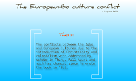 The European-Igbo culture conflict