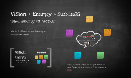 Copy of Vision + Energy = Success