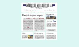 ANÁLISIS DE MAPA CURRICULAR