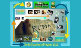 BELIEVE: A Talk on Goal Setting
