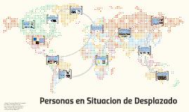 Personas en Situacion de Desplazado