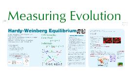 Evolution: Hardy-Weinberg