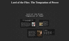 Lord of the Flies: Opression