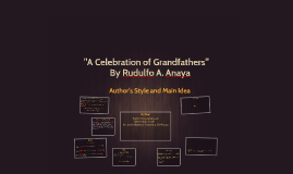 """A Celebration of Grandfathers"""