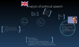 Analysis of political speech, Mr. David Cameron