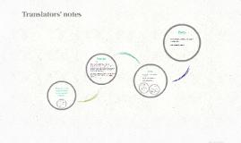 Translators' notes